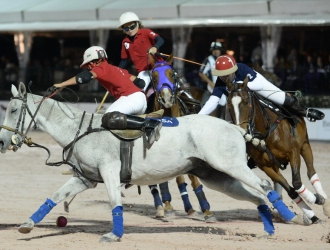 March 16 Gladiator Polo Action